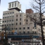 南3西3千秋庵本店ビル建て替え、解体が始まりました 2017年11月現在